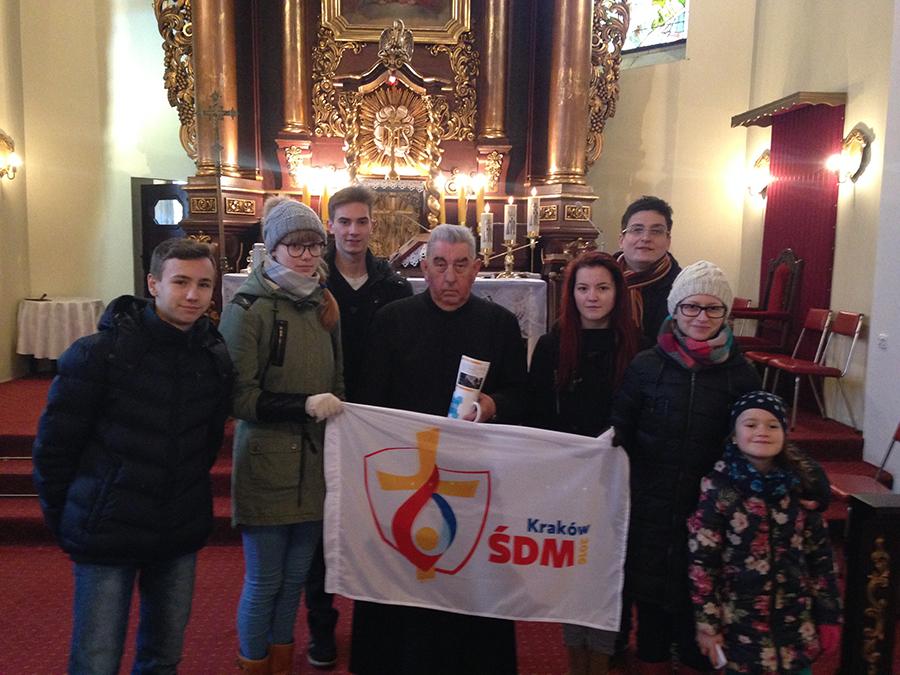 Niedziela ŚDM w Rojewie